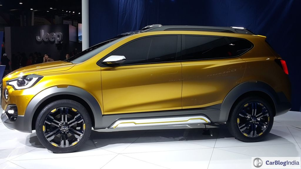 Datsun Go Cross India Launch Next Year Auto Expo 2018 Debut Likely