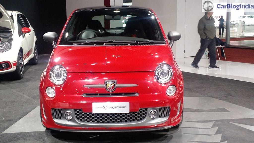 New Fiat Cars At Auto Expo