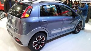 fiat urban cross images rear angle