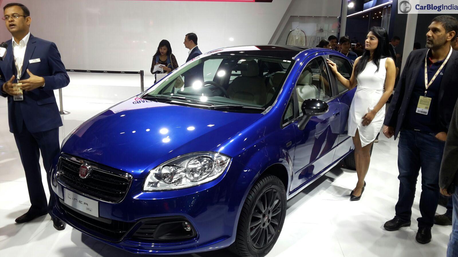 New Fiat Cars at Auto Expo 2016