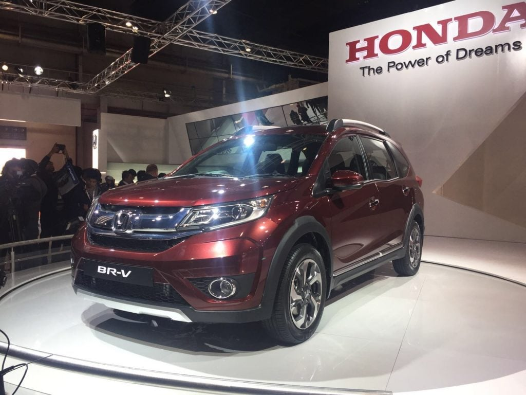 upcoming new car launches india 2016 honda-br-v-auto-expo-2016