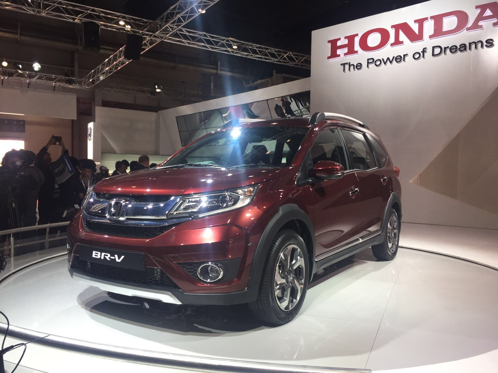 Honda BR V India Image Gallery From Auto Expo 2016