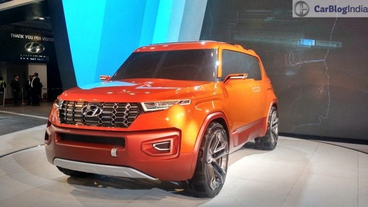 Upcoming new Hyundai Cars in India in 2016,2017 - hyundai-carlino-compact-suv-concept