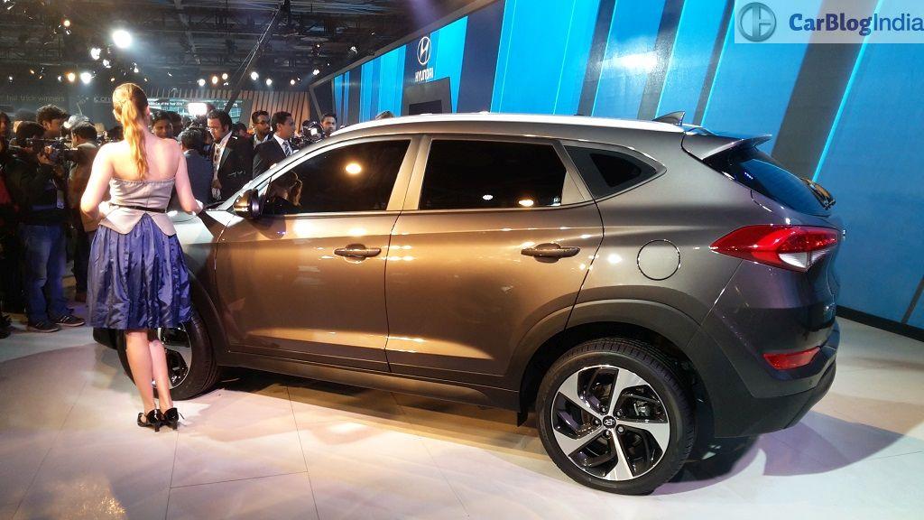 Hyundai Tucson Auto Expo 2016 3 Carblogindia