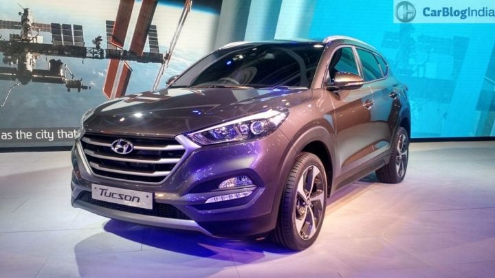 upcoming new car launches india 2017 - hyundai-tucson-auto-expo-2016