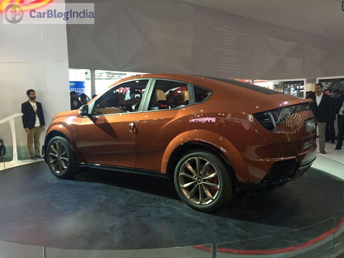 Mahindra At Auto Expo 2016 Mahindra Xuv Aero Coupe Suv