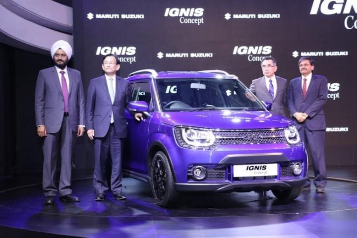 upcoming cars in india 2017 - maruti ignis india launch