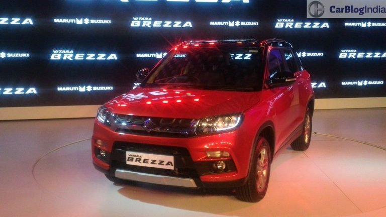 Maruti Brezza Bounces Back As The Most Selling SUV In September Sales