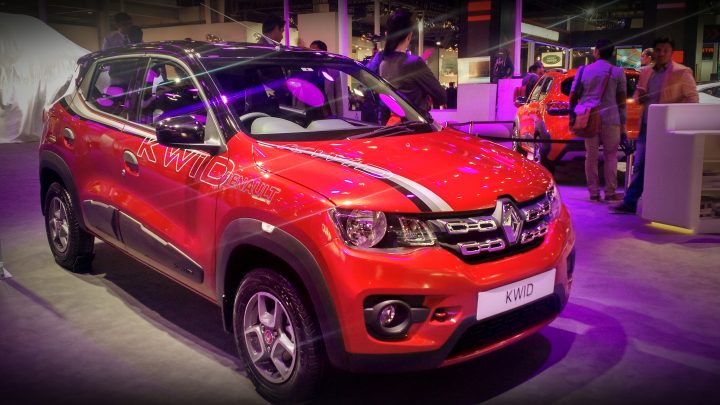 modified renault kwid at auto expo 2016