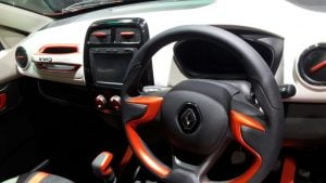 renault kwid climber official image interiors