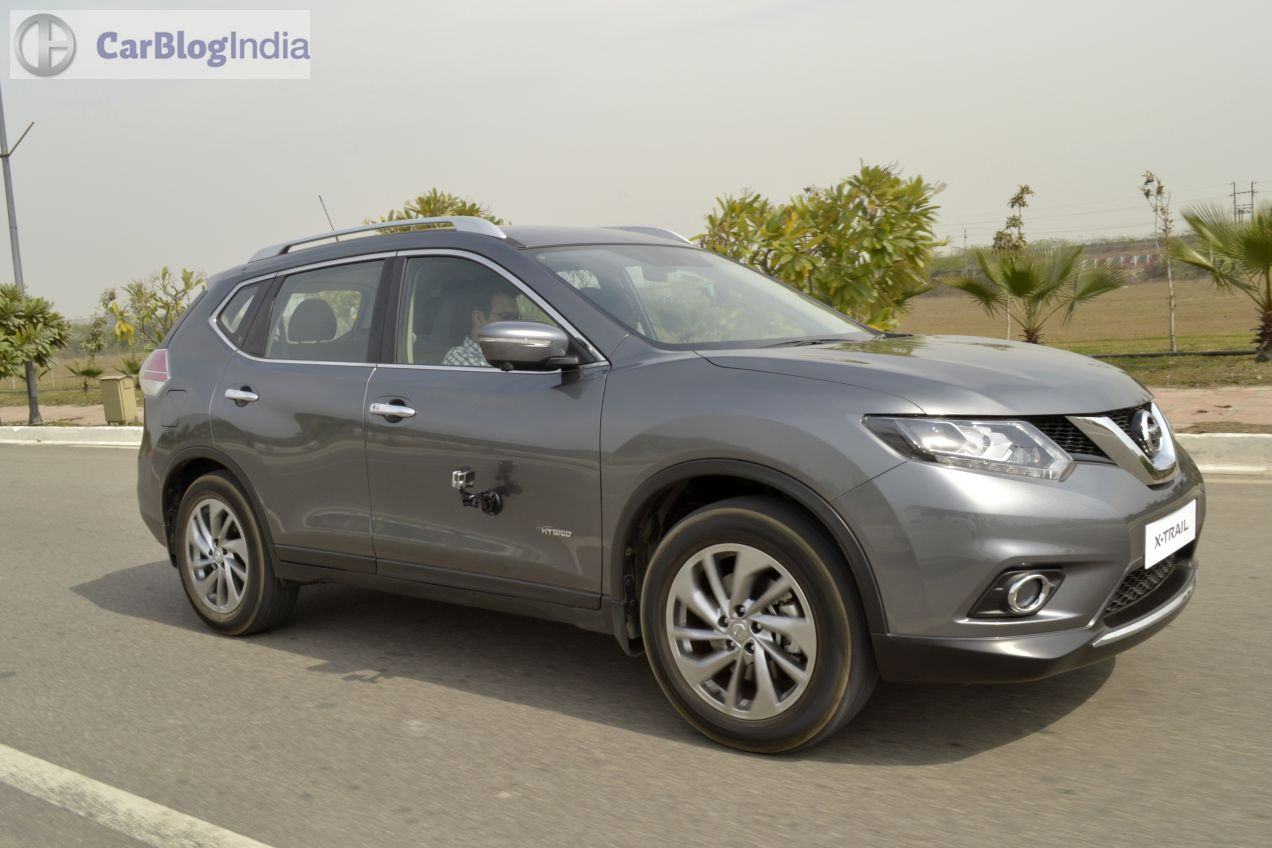 new nissan x trail hybrid india review test drive images. Black Bedroom Furniture Sets. Home Design Ideas