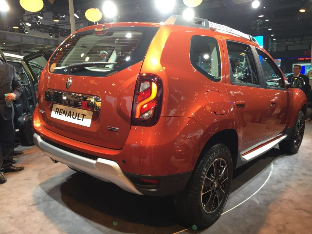 Renault Duster Facelift India Price Specifications Amt
