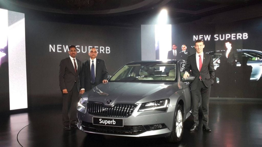 new skoda superb 2016 india launch 1