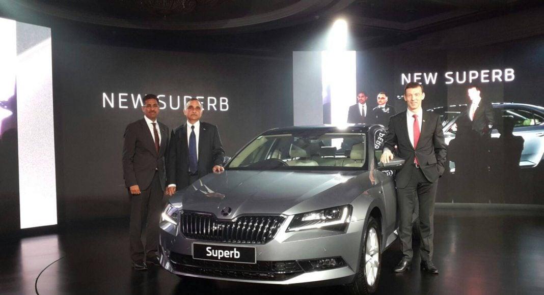 new skoda superb 2016 india launch 1