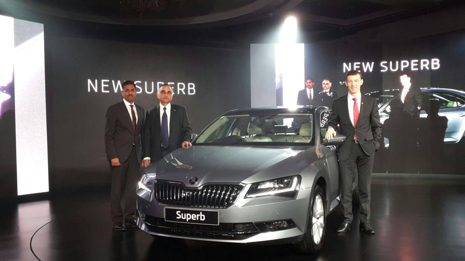 Upcoming sedan cars in india 2016 17 price pics launch new skoda superb