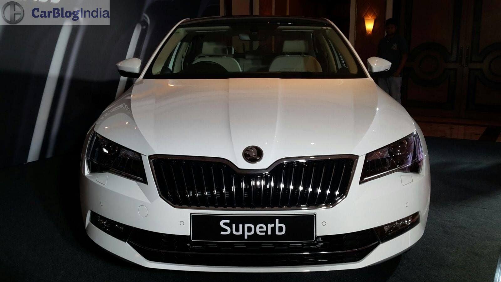 New Skoda Superb 2016 India Launch 5 Carblogindia