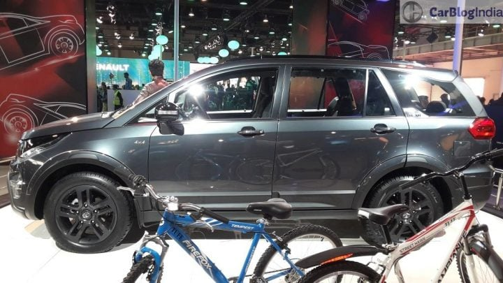 Tata Hexa vs Mahindra XUV500 Comparison - Tata Hexa Tuff Concept at Auto Expo 2016 - Hexa will rival XUV500, Details in Tata Hexa vs Mahindra XUV500 comparison here