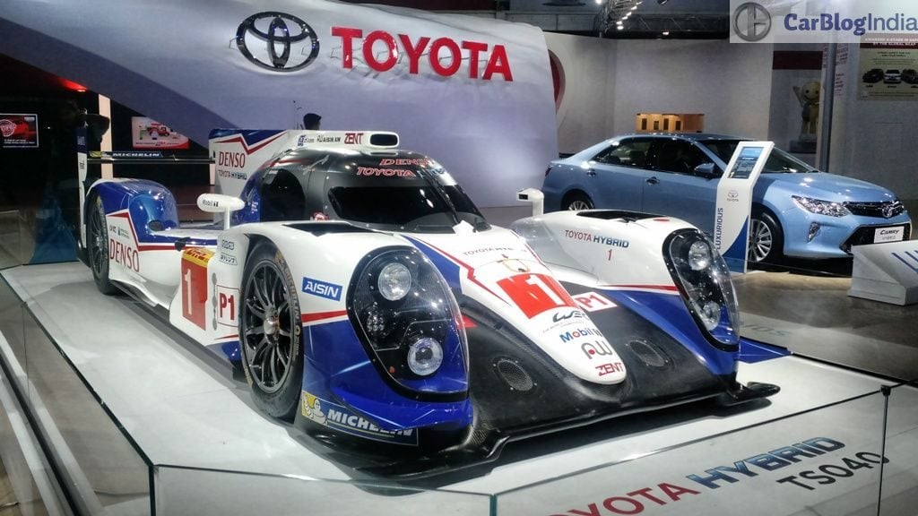 toyota cars at auto expo 2016 toyota TS040