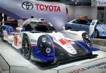 toyota TS040 at auto expo 2016