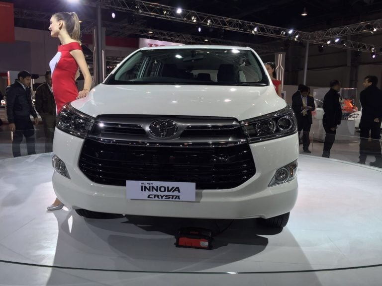 2016 Toyota Innova Crysta- Diesel Model Now on Sale in Delhi