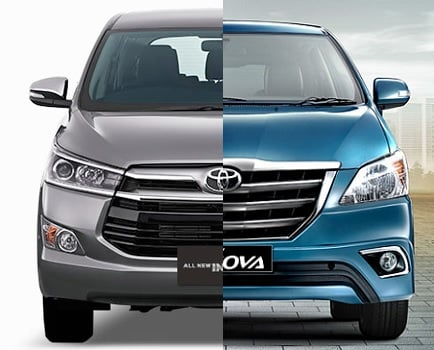 Toyota Innova Old Vs New Innova Crysta 2016 Comparison