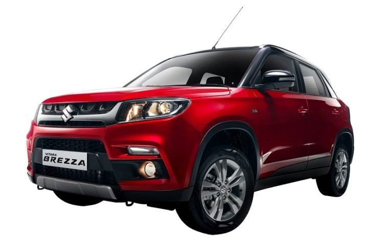 upcoming cars in india 2016, 2017 - vitara brezza exteriors