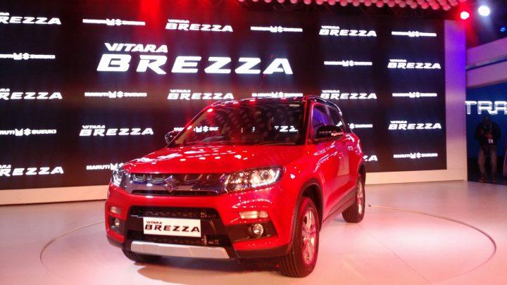 2016 Maruti Vitara Brezza Compact SUV
