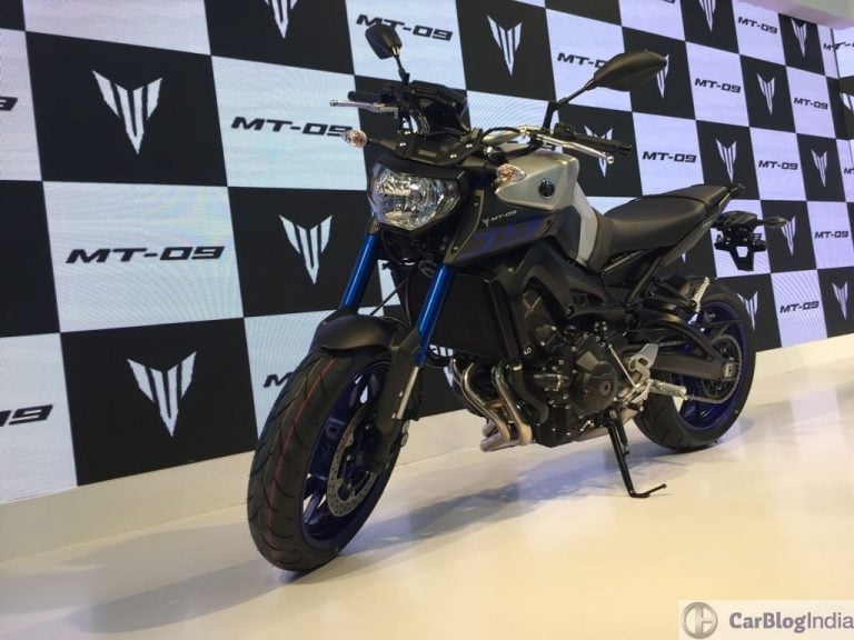 Yamaha MT-09 Launched in India at INR 10.20 lacs