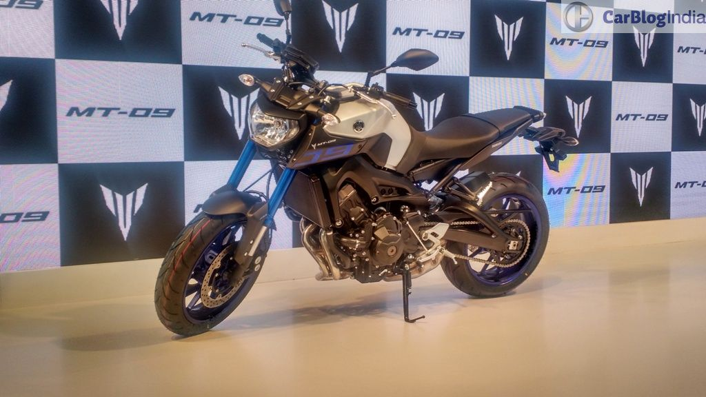 Yamaha mt 09 launched in india at inr lacs for Yamaha mt10 price