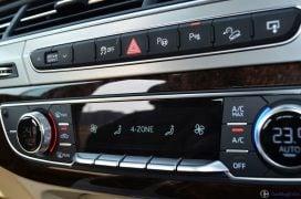 2016 Audi Q7 Review test Drive climate control