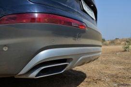 2016 Audi Q7 Review test Drive exhaust