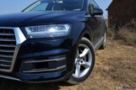 2016 Audi Q7 Review test Drive front bumper