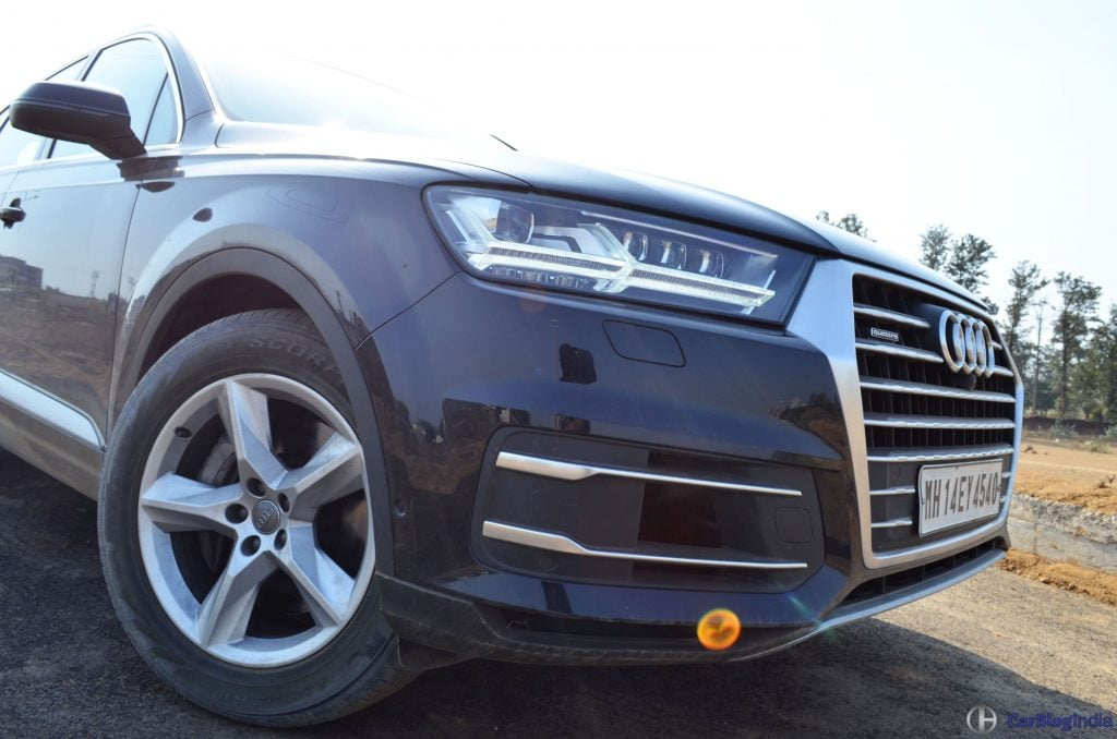 2016 Audi Q7 Review Test Drive Front Bumper Close