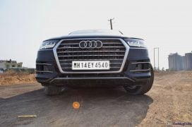 2016 Audi Q7 Review test Drive front low