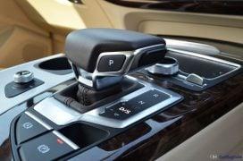 2016 Audi Q7 Review test Drive gear lever