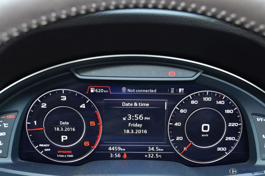 2016 Audi Q7 Review Test Drive Instrument Cluster