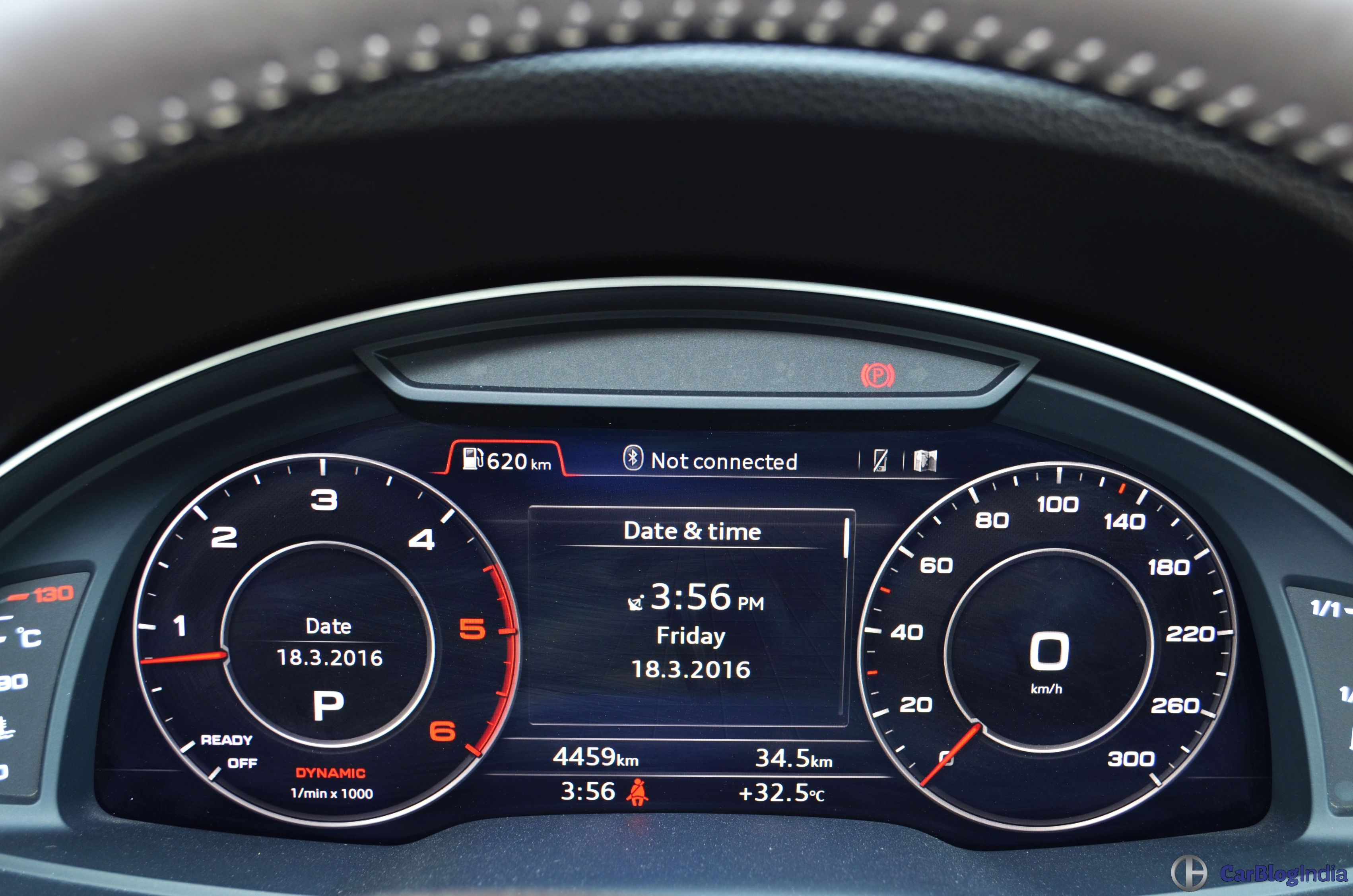 2016 Audi Q7 Review Test Drive Instrument Cluster