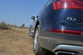 2016 Audi Q7 Review test Drive q7 badge