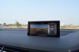 2016 Audi Q7 Review test Drive screen