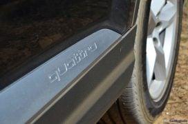 2016 Audi Q7 Review test Drive side quattro badge