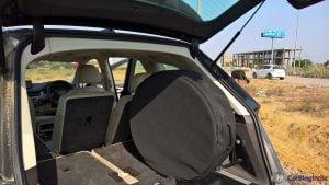 2016 Audi Q7 Review test Drive spare wheel