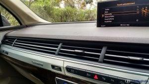 2016 Audi q7 Review test drive interior detail ac vents