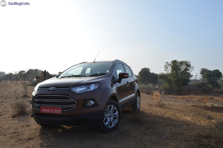 Ford EcoSport Prices Slashed! Now Starts at INR 6.68 lacs