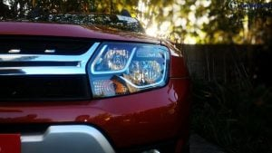 2016 renault duster facelift headlamp