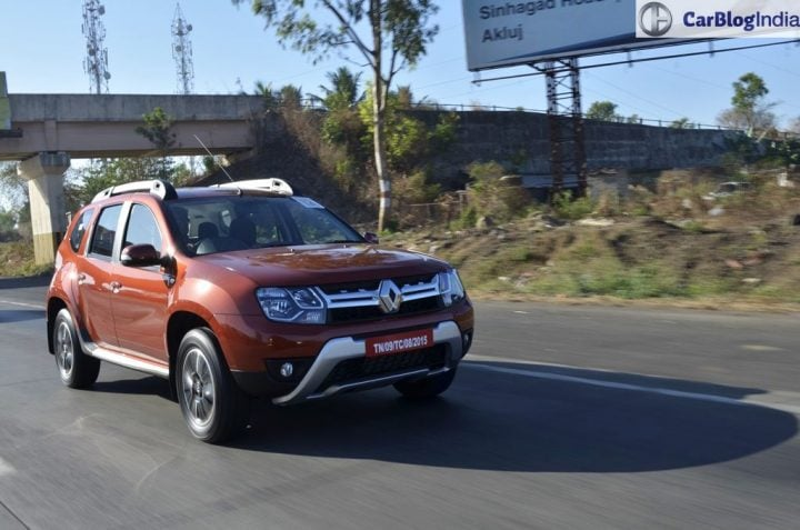 Fuel Efficient SUV Cars in India price, specs, mileage 2016-renault-duster-facelift