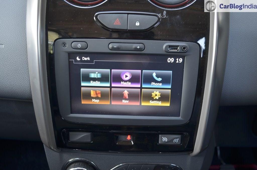 mahindra tuv300 vs renault duster duster touchscreen