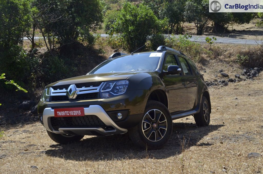 2016 renault duster facelift review images 6 carblogindia. Black Bedroom Furniture Sets. Home Design Ideas