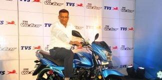 2016 tvs victor delhi launch official image