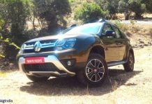 2016 renault duster facelift front angle