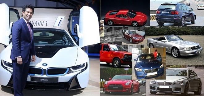 cars of sachin tendulkar